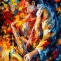 Modern impressionism palette knife oil painting on canvas kp182