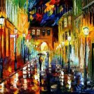 Modern impressionism palette knife oil painting on canvas kp185