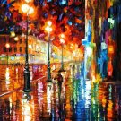 Modern impressionism palette knife oil painting on canvas kp191