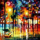 Modern impressionism palette knife oil painting on canvas kp198