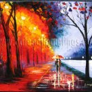 Modern impressionism palette knife oil painting on canvas kp200