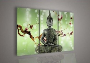 Contemporary zen art Buddha oil painting Buddha001