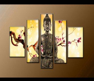 Contemporary zen art Buddha oil painting Buddha005