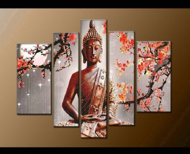 Contemporary zen art Buddha oil painting Buddha006