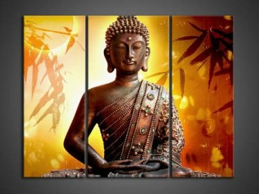 Contemporary zen art Buddha oil painting Buddha013