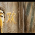 Contemporary zen art Buddha oil painting Buddha017