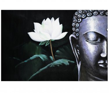 Contemporary zen art Buddha oil painting Buddha019