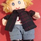 CHARMING SMALL CLOTH DOLL BOY SAVE THE CHILDREN DOLL &#39;ERIK&#39;