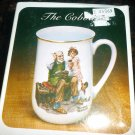 NORMAN ROCKWELL COLLECTOR&#39;S PORCELAIN MUG #2 &#39;THE COBLER&#39; NMB