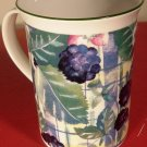 BEAUTIFUL FINE BONE CHINA CHURCHILL ENGLAND FLORAL MUG