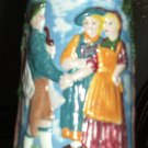 VINTAGE CERAMIC GERMAN HANDPAINTED STEIN/BEER MUG
