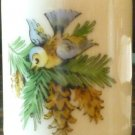 "VINTAGE 'FUNNY DESIGN' WEST GERMANY 2"" BIRD CANDLE HOLDER"