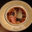 1973 AVON BETSY ROSS BY ENOCH WEDGWOOD DECORATIVE VINTAGE PLATE