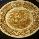 ALFRED MEAKIN STAFFORDSHIRE FAIR WINDS DINNER PLATES 3