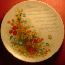 DECORATIVE PORCELAIN PLATE GIBSON GREETING CARDS JAPAN