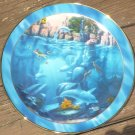 FRANKLIN MINT PORCELAIN HADPAINTED COLLECTIBLE PLATE Where DolphinS Dance