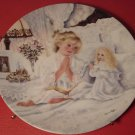 """KNOWLES DARLING COLLECTIBLE PLATE CORINNE LAYTON """"NOW I LAY ME DOWN TO SLEEP"""""""