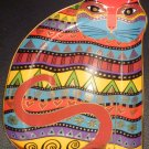 LAUREL BURCH FOR THE LOVE OF CATS ROYAL DOULTON FIGURINE DECORATIVE PLATE NMB