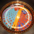 LAUREL BURCH FRECKLED FELINES FRANKLIN MINT HEIRLOOM PORCELAIN DECORATIVE PLATE