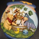 POOH'S HUNNYPOT ADVENTURES 'A TUB OF FUN' 3D PLAQUE PLATE BRADFORD EXCHANGE NMB