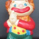 CHARMING CERAMIC COIN PIGGY BANK CLOWN CIRCUS