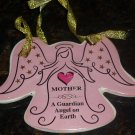 CHRISTMAS TREE ORNAMENT MOTHER IS A GUARDIAN ANGEL ON EARTH MOTHER DAY