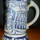 BEAUTIFUL CERAMARTE BRAZIL BUSCH GARDENS BEER STEIN COLLECTIBLE THE OLD COUNTRY