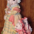 BEAUTIFUL FIGURINE OF A MOUSE WITH 2 KIDS BY IRS MICE