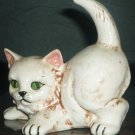 CHARMING VINTAGE CERAMIC CAT FIGURINE HOLLAND MOLD