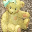 ENESCO CHERISHED TEDDIES 1991 JACKI BEAR HUGS & KISSES 950432 PRISCILLA HILLMAN
