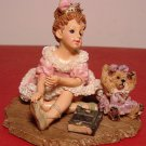 RETIRED BOYDS DOLLSTONE MELISSA WITH KATIE #3537