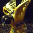 VINTAGE FINE PORCELAIN HANDPAINTED FIGURINE BIRD ORIOLE JAPAN