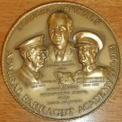 "UNIQUE ADMIRAL FARRAGUT ACADEMY 50TH ANNIVERSARY COMMEMORATIVE BRONZE 3"" MEDAL"