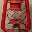 VINTAGE METAL LATERN LAMP WINGED WHEEL JAPAN BOAT DECOR MISSING GLASS
