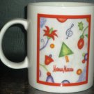 CHARMING NEWMAN MARCUS COLLECTIBLE PORCELAIN COFFEE/TEA MUG CHRISTMAS '97