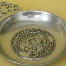 VINTAGE US HOUSE OF REPRESENTATIVE PEWTER WILTON BOWL DISH W/HANDLE