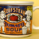 COLLECTIBLE CERAMIC CAMPBELL SOUP MUG CONDENSED BEEFSTEAK