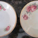 ANTIQUE MAASTRICHT MAESTRICHT SOCIETE CERAMIQUE HOLLAND BUTTER PAT SET OF 2