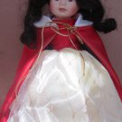 BEAUTIFUL BISQUE PORCELAIN BRADLEY DOLL SNOW WHITE 12""