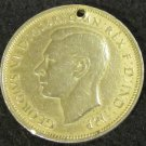 1944 GEORGE VI HALF PENNY COLLECTABLE COIN