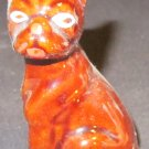 VINTAGE HANDPAINTED CERAMIC BOXER DOG FIGURINE