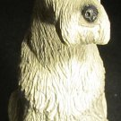 CHARMING AIREDALE TERRIER DOG FIGURINE FROM ADOPT-A-PET COLLECTION