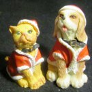 VINTAGE COLLECTIBLE CHRISTMAS DOG & CAT HUMANE SOCIETY OF UNITED STATES