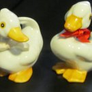 VINTAGE CHARMING PORCELAIN BIRD DUCK FIGURINE SET OF 2 BY HOMCO #1414