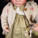 GORGEOUS KINGSTATE PRESTIGE DOLLCRAFTERS HIGH FIRE BISQUE PORCELAIN CHELSEA DOLL
