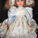 GORGEOUS HIGH FIRE BISQUE PORCELAIN VINTAGE ANTIQUE VICTORIAN DOLL