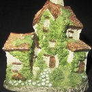 COLLECTABLE DAVID WINTERAT CENTER VILLAGE SERIES IVY COTTAGE 1982-1992 MOULD 2