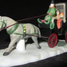 DEPARTMENT 56 HERITAGE VILLAGE COLLECTION CENTRAL PARK CARRIAGE RIDE #5979-0