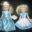 "CHARMING McDONALD'S 5"" MADAM ALEXANDER CINDERELLA & ALICE IN WONDERLAND DOLLS"
