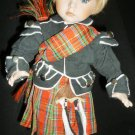 CHARMING SCOTTLAND DOLL FROM DUCK HOUSE HEIRLOOM DOLLS 10""